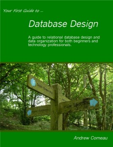 "Cover of ""Your First Guide to Database Design"""