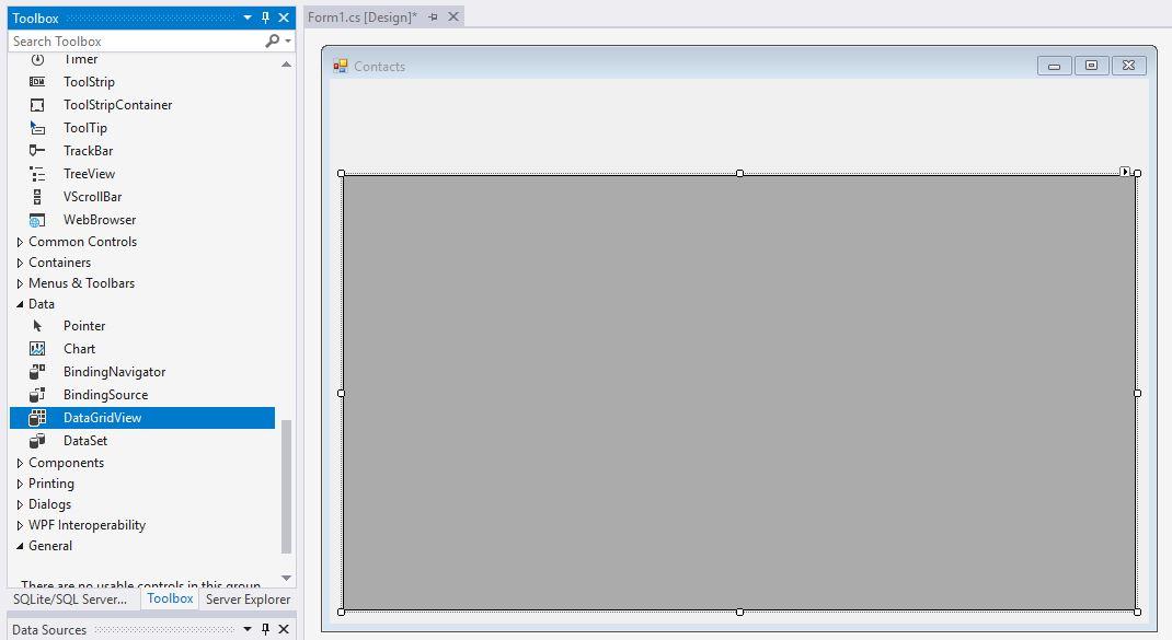 009-DataGridView | ComeauSoftware com