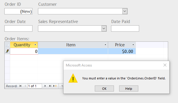 Helping Users Work With Subforms in Microsoft Access